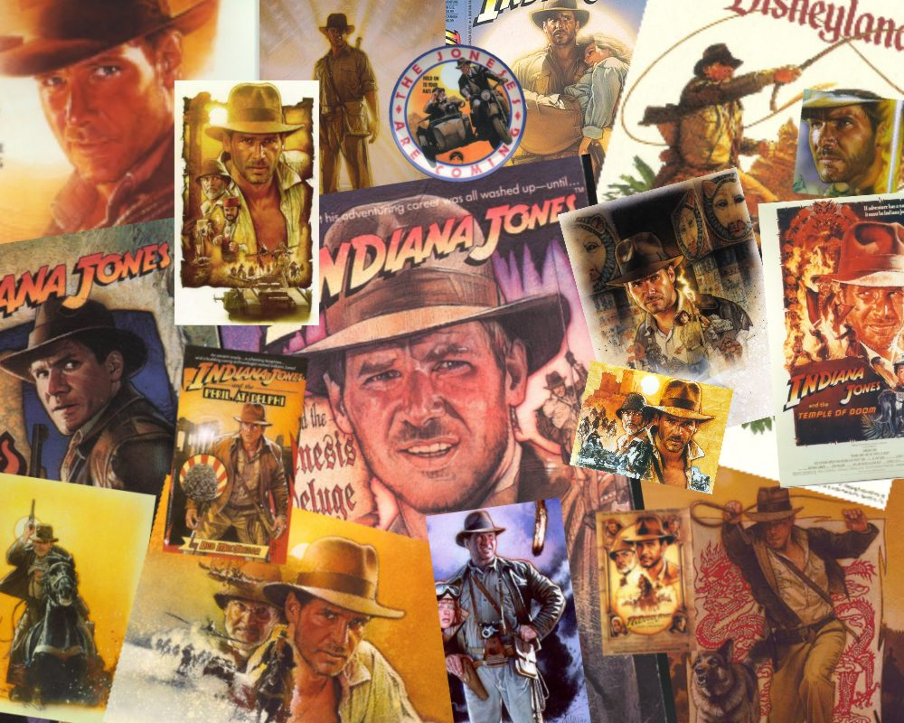Indiana Jones lucas spielberg Struzan Joe Namsinh